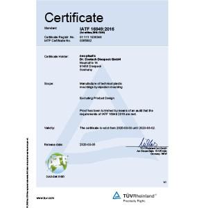 neoplastic-certificate-16949